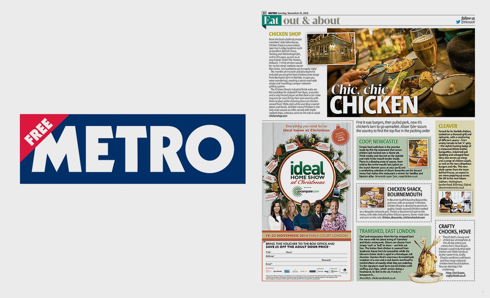 Chicken & Blues: Top 5 in the UK!