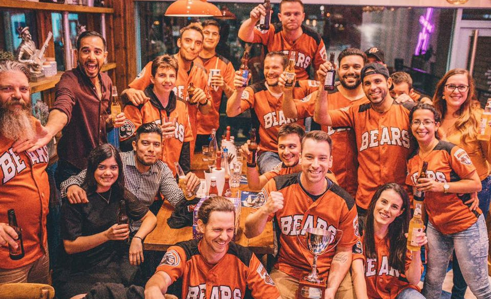 C&B gets behind Bournemouth Bears Baseball Team!