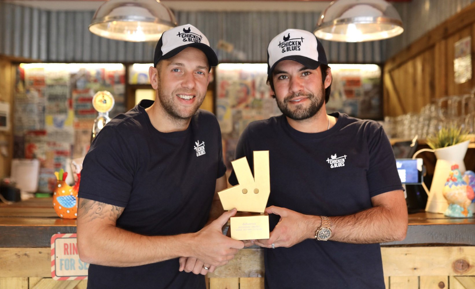 Chicken & Blues announces multi-year exclusive partnership with Deliveroo