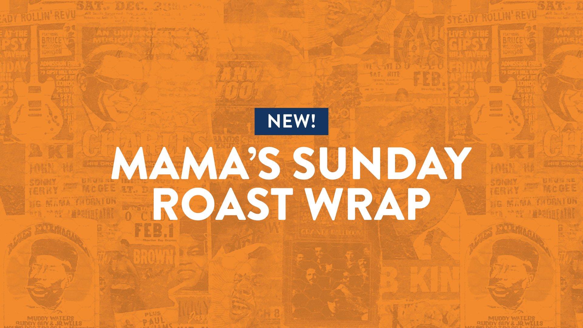 C&B launches Mama's Sunday Roast Wrap